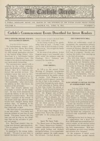 The Carlisle Arrow (Vol. 10, No. 31)