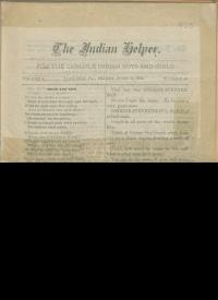The Indian Helper (Vol. 1, No. 45)