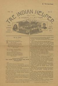 The Indian Helper (Vol. 7, No. 3)