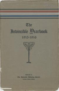 The Invincible Yearbook 1915-1916