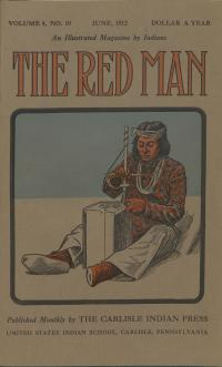 The Red Man (Vol. 4, No. 10) Cover
