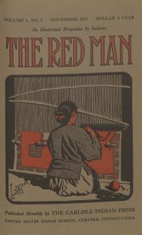 The Red Man (Vol. 4, No. 3) Cover