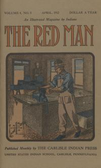Red Man (Vol. 4, No. 8) Cover