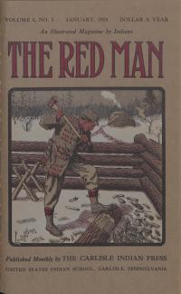 The Red Man (Vol. 6, No. 5) Cover