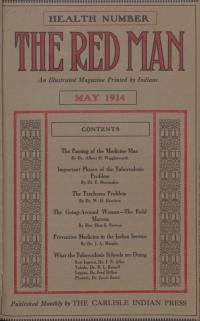 The Red Man (Vol. 6, No. 9) Cover