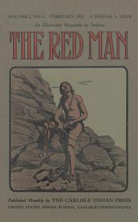 Image of the Red Man (Vol. 3 No. 6) Cover