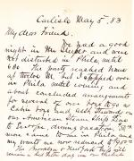 Letter from Richard H. Pratt to Cornelius R. Agnew, May 5, 1883