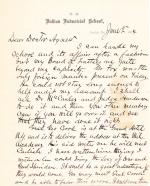 Letter from Richard H. Pratt to Cornelius R. Agnew, June 2, 1884
