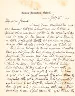 Letter from Richard H. Pratt to Cornelius R. Agnew, July 2, 1884