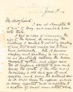 Letter from Richard H. Pratt to Cornelius R. Agnew, June 1, 1886