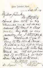 Letter from Richard H. Pratt to Cornelius R. Agnew, December 13, 1884
