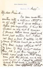 Letter from Richard H. Pratt to Cornelius R. Agnew, August 9, 1886