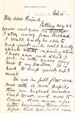 Letter from Richard H. Pratt to Cornelius R. Agnew, October 12, 1886