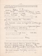 Personnel File of Nellie Robertson Denny, Clerk and Outing Manager