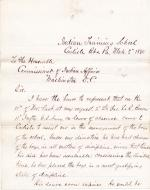 Request to Detail George LeR. Brown to Carlisle