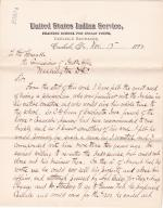 Pratt Informs Office of the Hire of Obadiah G. Given as Physician