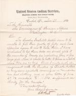 Proposed Transfer of Small Girls to the Lincoln Institute