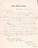 Return and Correction of Statement of Funds, Third Quarter 1885