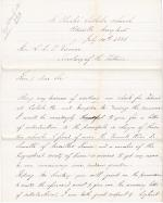 Request for Letter of Introduction to Carlisle and Hampton