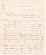Request to Return Charles Martin and Henry Hudson