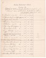 Special Estimate for Medical Supplies, January 1890
