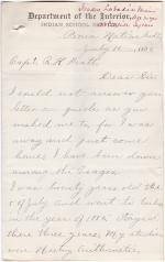 Former Student Survey Responses, 1890 (Part 5 of 5)