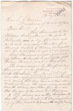 Request for the Return of William and Sarah Archiquette