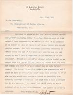 Pratt Responds to Request for Resignation by Fanny W. Noble