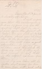 Claims by Mary M. Kennedy Against the Carlisle School and Request for Return