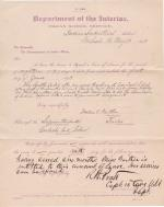 Mollie V. Gaither's Application for Leave of Absence