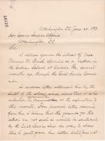 Objection to the Dismissal of Minnie M. Birch
