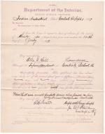 Ella G. Hill's Request for Sick Leave of Absence
