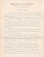 Report and Recommendations on the Carlisle Indian School and Outing System