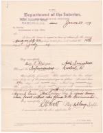 Mary E. Lininger's Application for Annual Leave of Absence