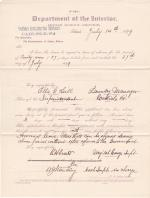 Ella G. Hill's Application for Leave of Absence
