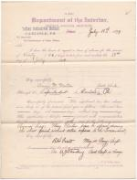 Annie M. Morton's Application for Annual Leave of Absence