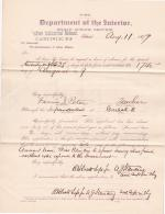 Fannie I. Peter's Application for Annual Leave of Absence