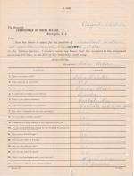 Application for Employment from Delia Webster