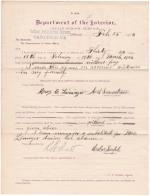Mary E. Lininger's Application for Leave of Absence