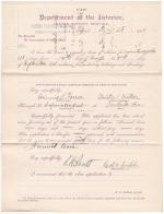 Minnie L. Ferree's Application for Annual Leave of Absence