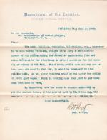 Request to Pay Students Labor Over Summer of 1903