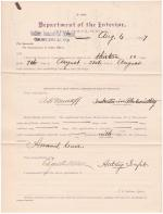A. H. Murtoff's Application for Annual Leave of Absence
