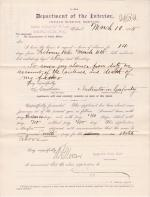 H. Gardner's Request for Leave of Absence