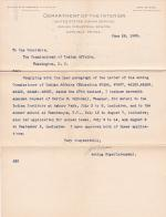 Hattie M. McDowell's Request for Leave of Absence