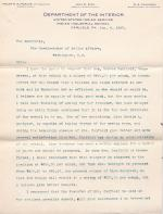 Request to Transfer Bertha Canfield from Carlisle