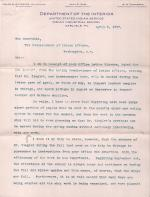 Mercer Responds to Request for Zeigler to Inspect Leather Samples in 1907