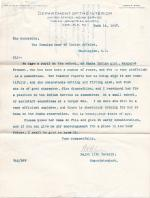 Request to Place Marguerite Fremont on the Indian School Service List
