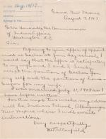 Correspondence Regarding Appointment of Mr. and Mrs. Fred Canfield