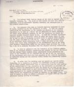Draft of Congressional Letter on the Transfer of the Carlisle Barracks Campus