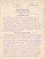 Draft of 30th Annual Report of the Carlisle Indian School
